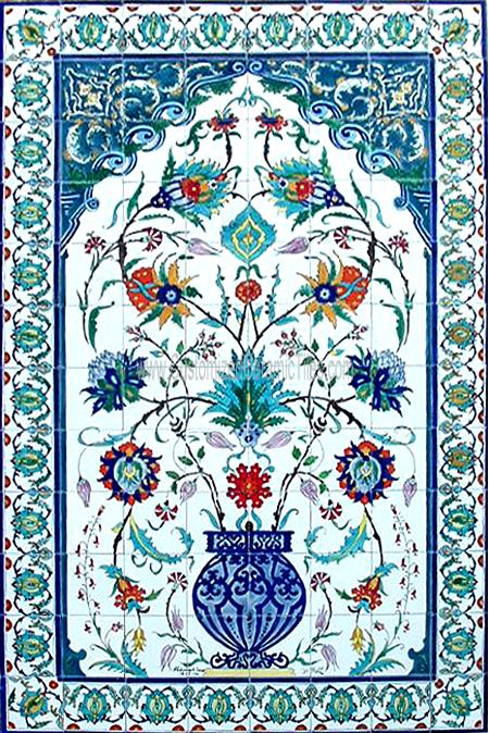 Ceramic tiles tiles decor decorative murals exotic for Custom mosaic tile mural