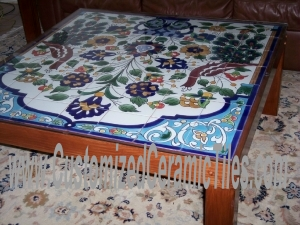 Accent Tiled Table